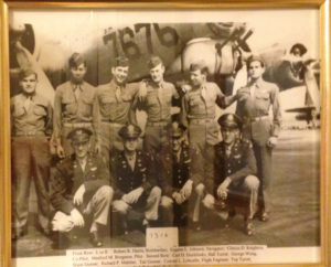 Conrad Lohoefer (third from the right, top row) and his 10 man crew