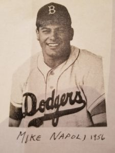 Mike Napoli in his Dodgers uniform