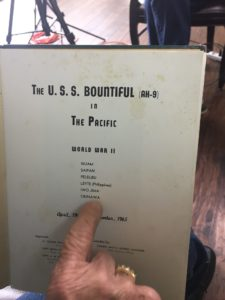 A book written about the ship that Thomas Russell manned, called the U.S.S. Bountiful
