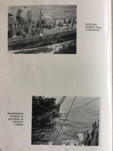 How the hospital ships received patients