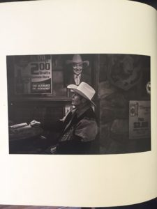 A photo of Lee Powell in a book written about cowboys