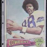 A photo of Drew Pearson that Patrick Jackson kept for inspiration as a child