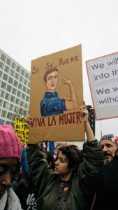 March against Trump for Women in Washington