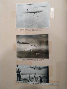 From S. Farber WWII Scrapbook.