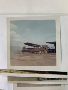 Spotter plane used to scout