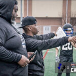 Odessa Jenkins Coaching During 2020 Training Camp for the WNFC